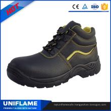 Black Sbp Cotton Linning Winter Safety Shoes Ufa020