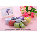 Romantic Scented Soy Tin Candle Gift Set