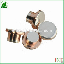 Electrical Contacts and Contact Materials flat head contacts