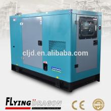 Energía de reserva, generador diesel silencioso 40kw para el hogar, alternador eléctrico impermeable del alternador de 50kva accionado por el motor de los cummins
