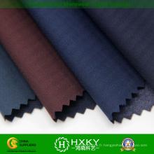 Tissu de jacquard de polyester de pongee avec le composé tricoté de tissu
