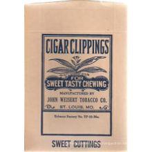 Plastique d'emballage de tabac de PE, sac de tabac de papier d'emballage