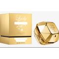 Caja de dos piezas de perfume personalizado mejor calidad elegante