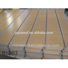 Holt sale used 18mm melamine solt mdf board for supermarket wall shelf