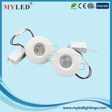 Especial desigh staineless aço elegante para casa usando recesso led downlight 2,5 polegadas 5w