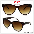 Rhinestone Ladies Plastic Cat′s Eye Sunglasses (WSP508297)