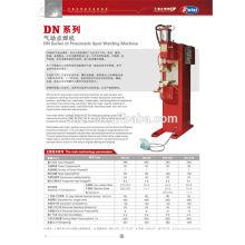 Série DN pneumática máquina de solda ponto
