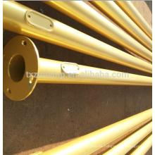 recubrimiento en polvo excelente polyonal street light pole arms