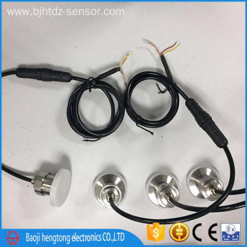 Flush diaphram pressure conductor