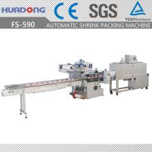 Máquina de embalagem de encolhimento de sabão de fluxo de alta velocidade automática