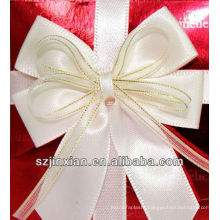 provide colorful packaging gift ribbon bow ties