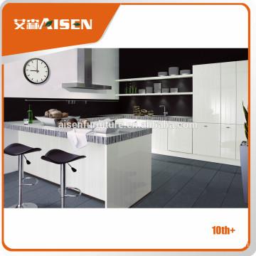 Modern Italian Design home furniture cozinha use High Gloss Lacquer Kitchen Cabinet