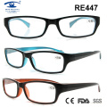 Óculos de leitura bonitos da mulher do homem da mulher (RE447)
