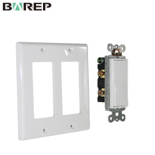 YGC-011 Swing switch electrical current wall plate with plug