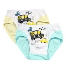 Cute Car Imprimé Cartoon Boys Sous-vêtements / Sous-vêtements pour enfants / Sous-vêtements pour enfants