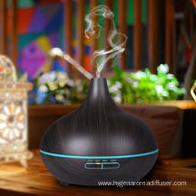400ml Ultrasonic Whisper Quiet Humidifier With Warm Light