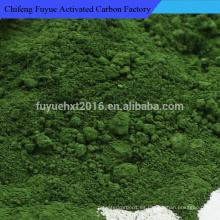 Pintura de cromo en polvo de pigmento de alta pureza Óxido de cromo verde