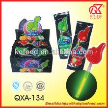 10g Halal Thumb Shape Glow Lollipop Candy