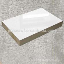 Weiße Farbe Melamin laminierte MDF