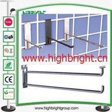 Retail Supermarket Metal Wire Euro Display Shelf Accessories Hook