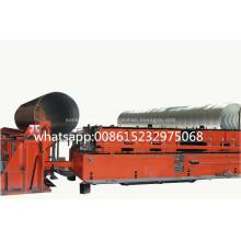 Spiral Helically Corrugated Culvert Pipe Machine
