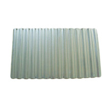 printed galvannealed white board 8mm corrugated steel sheet