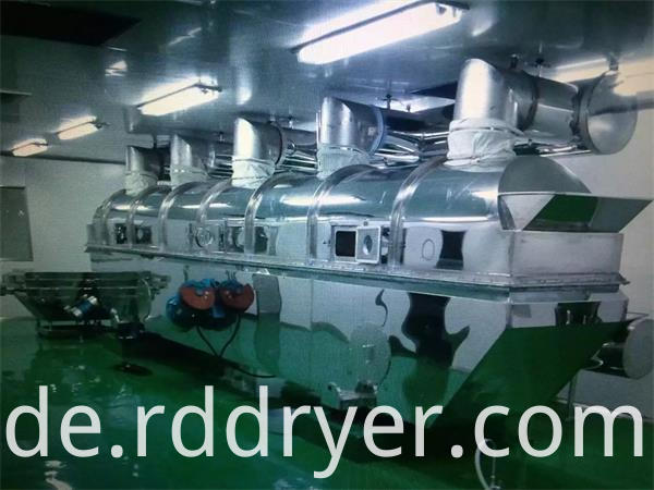 Non Standard Fluid Bed Drying Machine for Grains with Air Spring