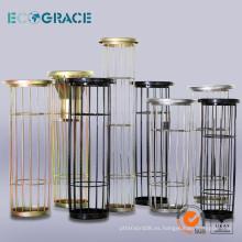 Caja de filtro de acero suave y acero inoxidable