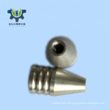 Pieza que trabaja a máquina del aluminio del CNC del metal del OEM