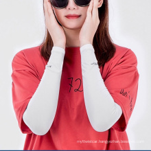 Men′s and Women′s Sun Protection Sleeves, UV Protection, Outdoor Icy Arm Guard Sleeves Ice Silk