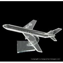 Кристалл модель самолета украшения стола подарки (СД-МХ-008)