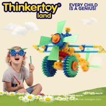 Brinquedos educativos plásticos do brinquedo do DIY 3D