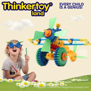Juguetes educativos de plástico DIY 3D Puzzle