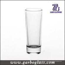 Vidrio de tiro de cristal blanco alto (GB070203H)