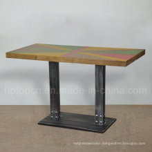 Hot Selling Antique Cafe Table Solid Wood Cafe Table (SP-RT495)