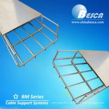 Cesto e tampa de bandeja de cabos galvanizados eletromecânicos (UL.cUL.CE.IEC.ISO.NEMA)
