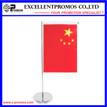 Custom Desk National Flag with Plastic Stand (EP-F58403)