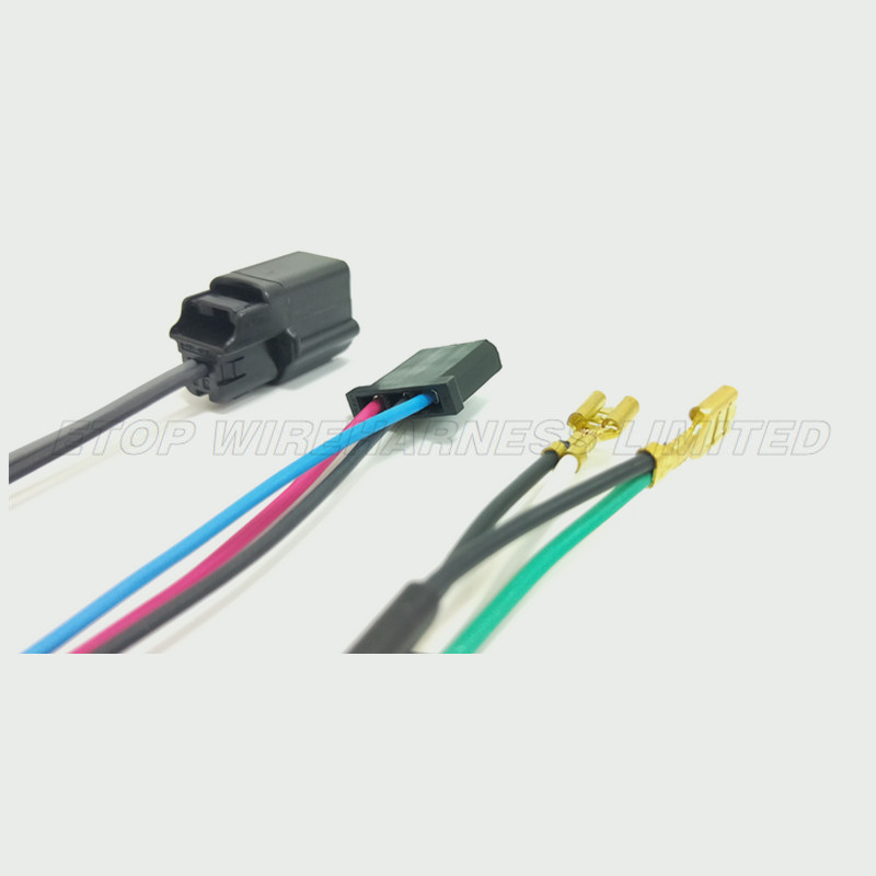 wire harness for auto rearview mirror