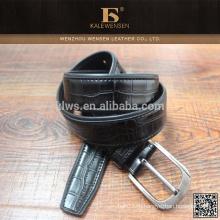 Мода полиэстер Китай Оригинальные рекламные экологически чистые 2013 черный подлинный пояс ПУ для мужчин