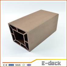 Dekorative wasserdichte wpc Holz Kunststoff Composite Zäune Post
