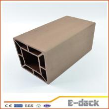 Декоративные водонепроницаемые wpc деревянные пластиковые композитные заборы post