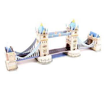 Small London Bridge Building Puzzle