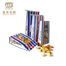 Fabrik-Nahrungsmittelgrad-Hitze-versiegelbares verpackendes kundenspezifisches Logo druckte Pergamentpapier-Popcorn-Taschen