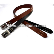 metal fashion plate free belts for men