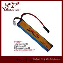 Firefox 1200 mAh 11.1V batterie militaire de Li-polymère Lipo LiPo 20C