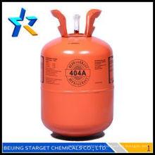 Gaz réfrigérant r404a à haute pureté 99,9% en vente