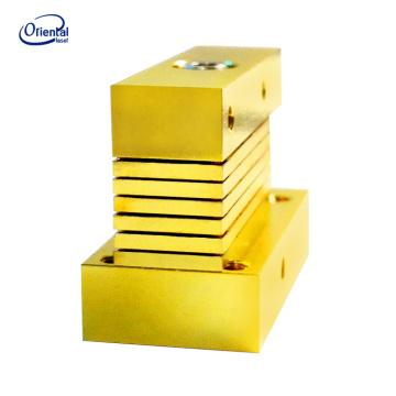 Verticale stack diodo laser para cortar y calentar el uso industrial