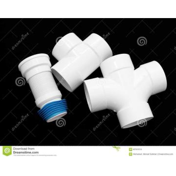Plastic pipe fitting  connection housing