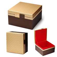 Luxury Shoulder Style Papper Smycken Box