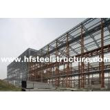 Custom Structural Industrial Steel Buildings For Workshop,